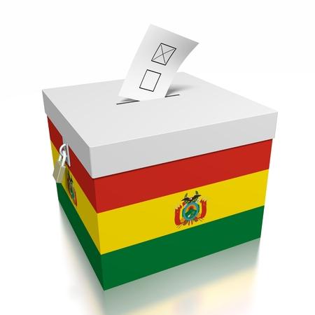 Bolivia - voting concept Stock Photo