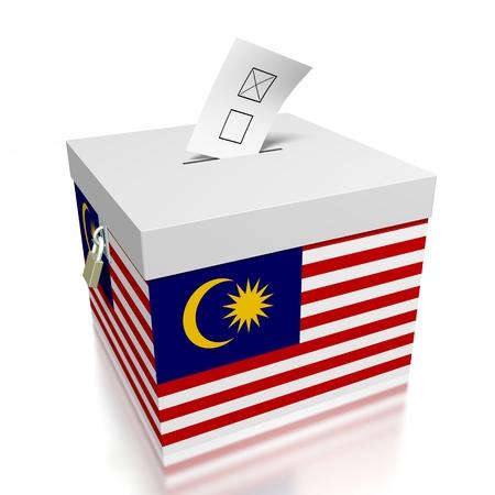Election concept - vote/ voting Foto de archivo