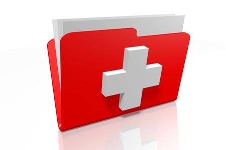 rescuing: Files folder concept