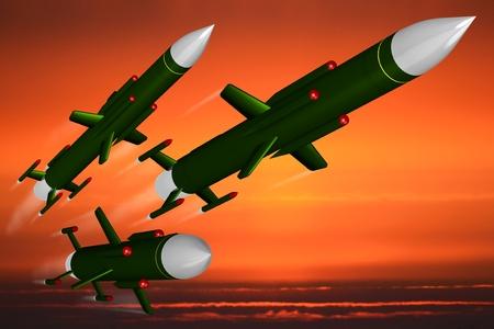 ミサイル 写真素材 - 79860860