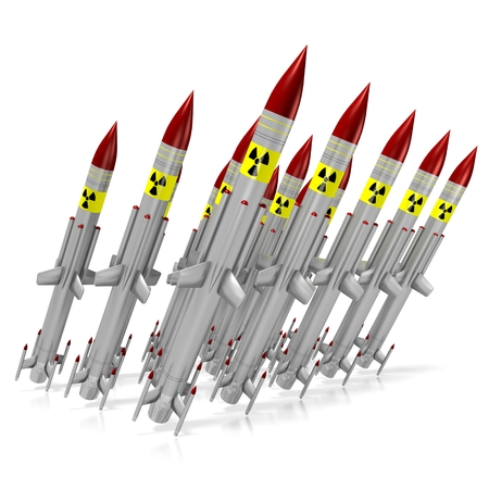 atomic bomb: Nuclear missiles