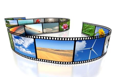 3D Film / Kamerafilm / Band Standard-Bild - 79931645