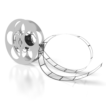3D movie tape