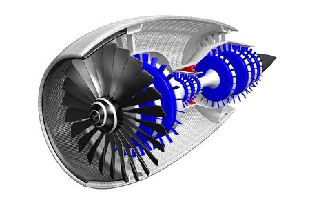 3D plane engine