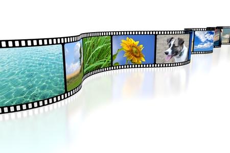 3D-Kamera rollen Standard-Bild - 79947476