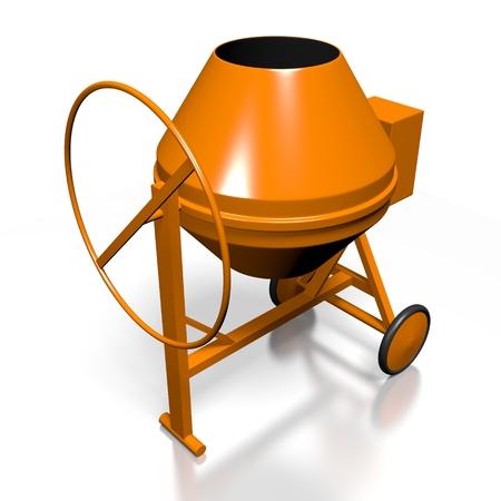 3D concreate mixer