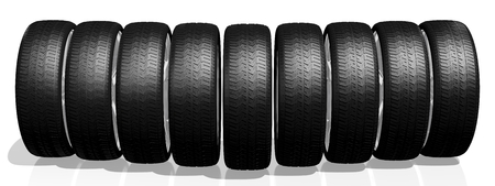 car tire: 3D car tires