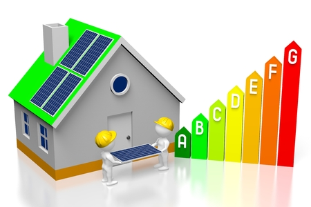 Solar panels assembly