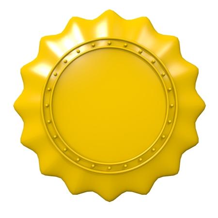 insurance themes: Badge concept Stock Photo