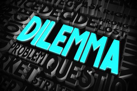 Dilemma concept
