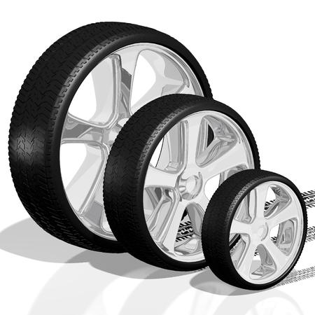 smal: 3D wheels, tires