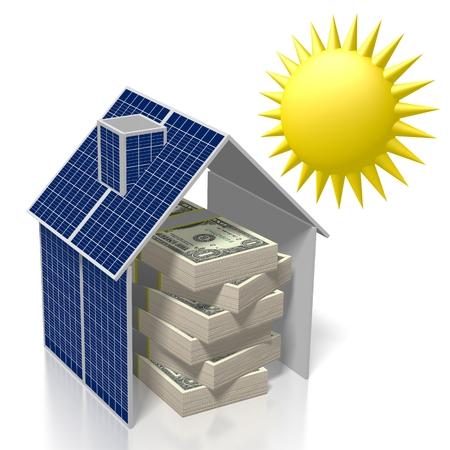 Sole, concetto di energia solare Archivio Fotografico - 79989693
