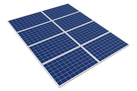 Pannelli solari CONCEPT Archivio Fotografico - 79990127