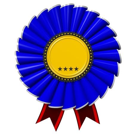 star award: 3D badge Stock Photo