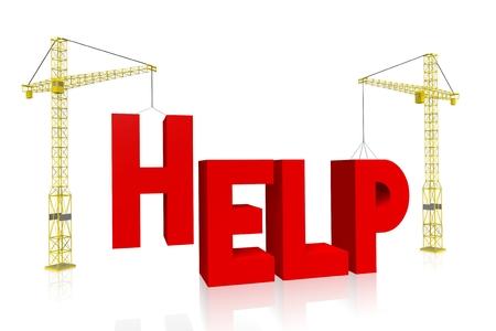assisting: Crane concept - help