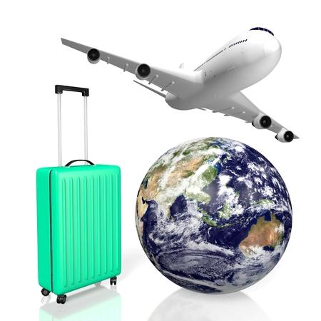 3D plane traveling concept