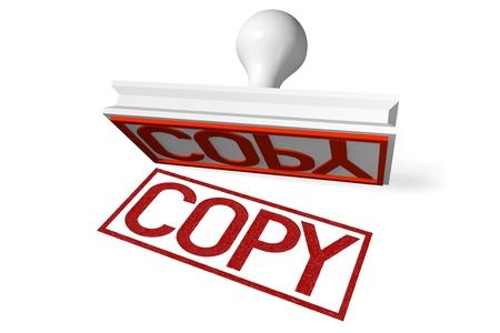 copy: 3D rubber stamp - copy