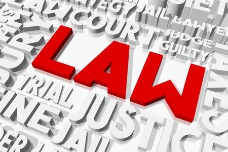 oncept: Law concept