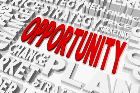 opportunity: Opportunity concept Stock Photo