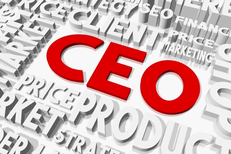 ceo: CEO concept Stock Photo