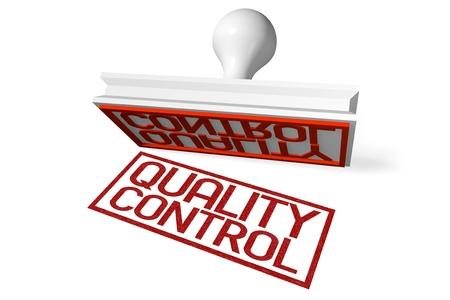 Timbre en caoutchouc 3D - contrôle de qualité Banque d'images - 79994180