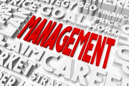 oncept: Management concept