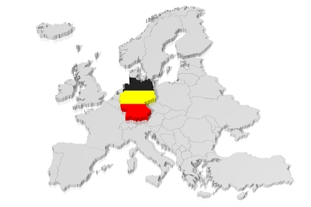 Shape German Stock Illustrations Cliparts And Royalty Free - Germany map shape