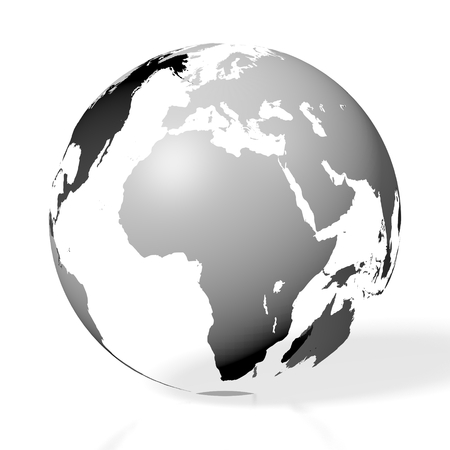 3D world map - Earth