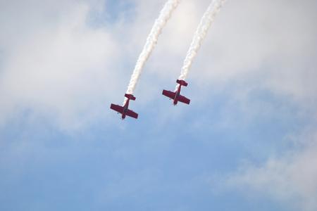 Plane acrobatics