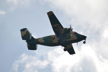 Military transportaion plane