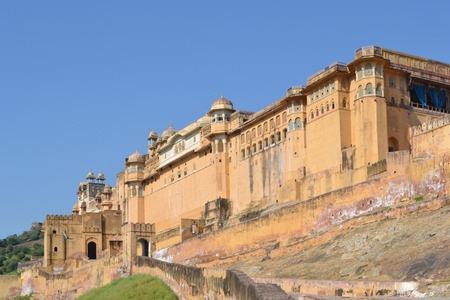 amber fort: Fort Amber, India
