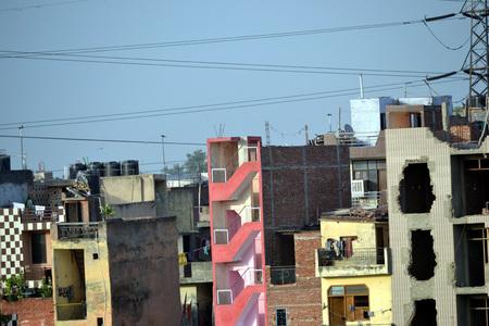 slums: Slums in India