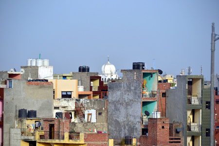 Houses in New Delhi, India