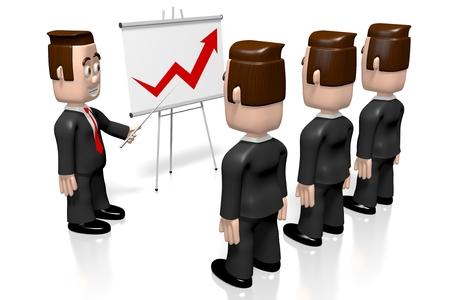 3D 실업가 - 성장 차트