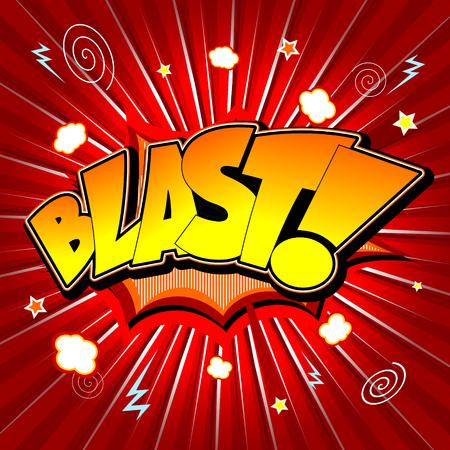 Bang illustration - Blast!