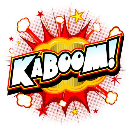 Bang illustration - Kaboom!