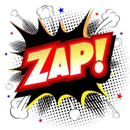 Bang illustration - zap!