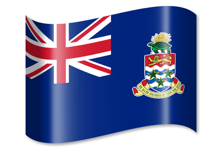 Flag of The Cayman Islands Stock Photo