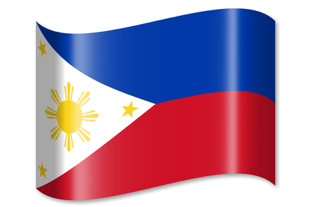 Flag of Philippines Stock Photo - 82998065