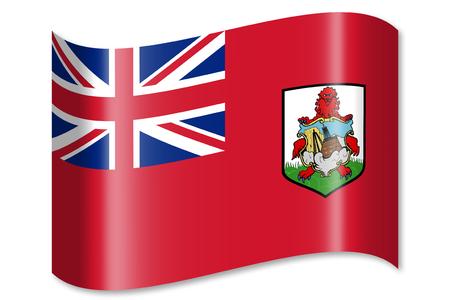 Flag of Bermuda Banco de Imagens