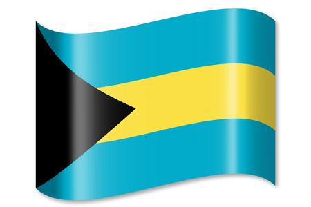 Flag of The Bahamas Reklamní fotografie