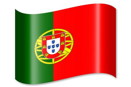 drapeau portugal: Flag of Portugal Banque d'images