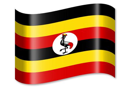 Vlag van Oeganda
