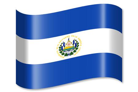 Flag of El Salvador Banco de Imagens