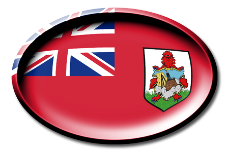 Flag of Bermuda Stock Photo