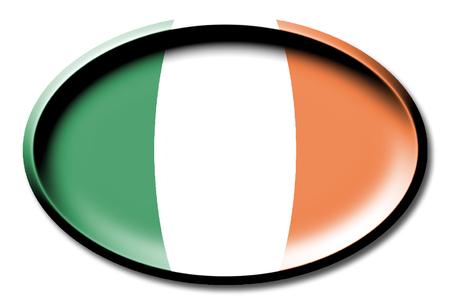 Flag of Irland Stock Photo