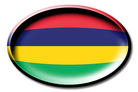 Flag of Mauritius Stock Photo