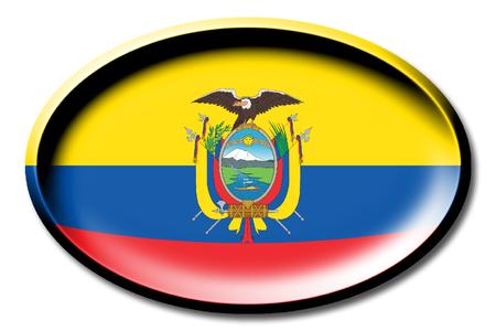 Flag of Ecuador Imagens