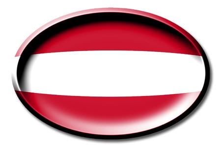 Flagge von Österreich Standard-Bild - 83027409