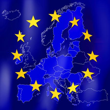 EU - European Union flag